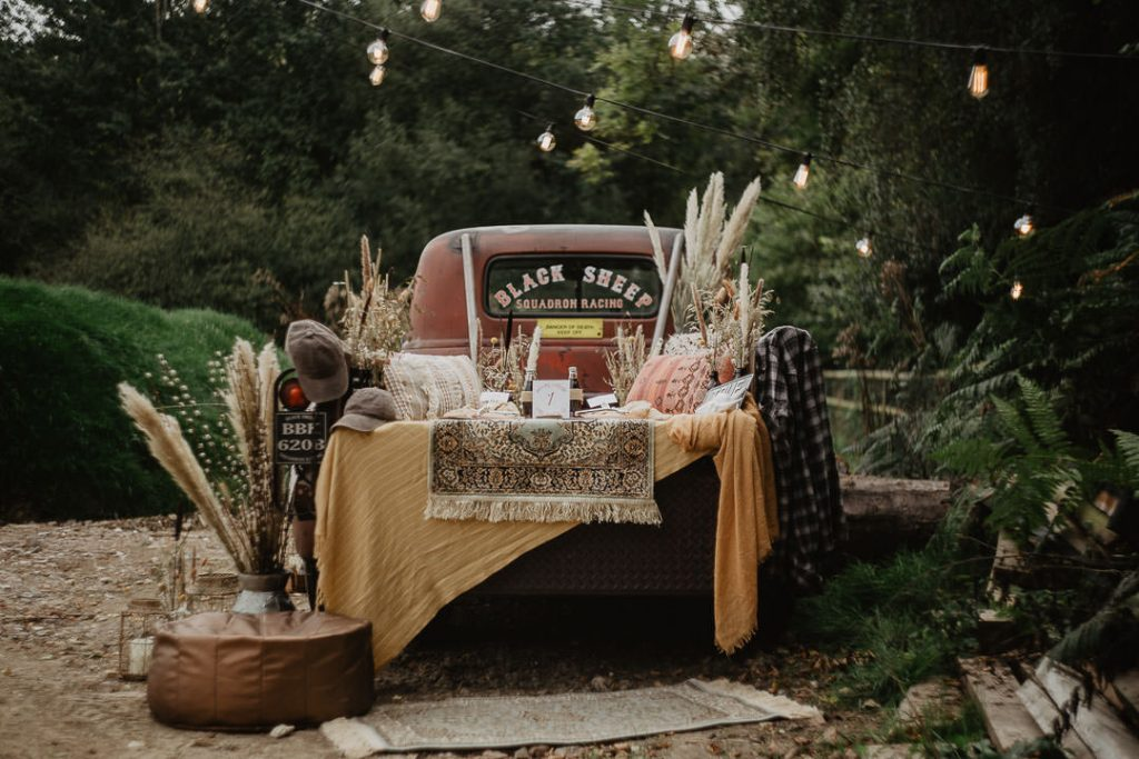 bohemian wedding chevrolet
